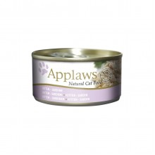 APPLAWS - NATVOER 6 x 70 GR SARDINES KITTEN