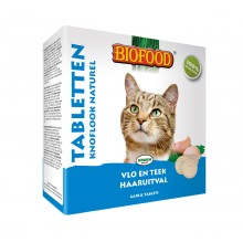 BIOFOOD - ANTI-VLO TABLETTEN NATUREL 100 ST - 60 GR ADULT