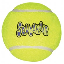 KONG - AIR SQUEAKER TENNISBALL X-LARGE, 10 CM